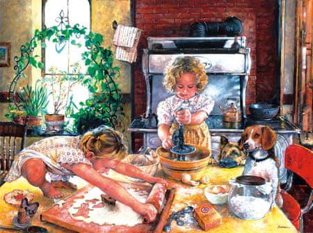 SunsOut Puzzle 1000 db Susan Brabeau - Baking Cookies
