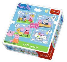 Trefl 4 Jigsaw Puzzles - Peppa Pig