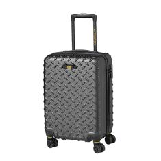 CAT Trolley Industrial Plate, kabínová batožina, 35 l, kovová sivá