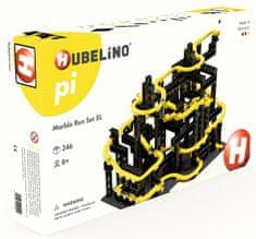 Hubelino Pi Guličková dráha - set s kockami XL 246 ks