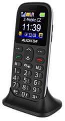 Aligator A510 Senior čierny + stol. nab.