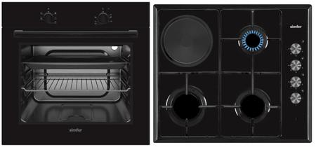 Simfer set pečice in plošče BIOH 31B5B