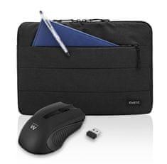 Ewent komplet torba za prijenosno računalo i bežični miš, crna (BAGEWE002)