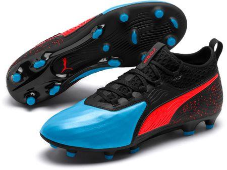 Puma buty piłkarskie męskie One 19.2 Fg/Ag Czarno-niebieskie 42
