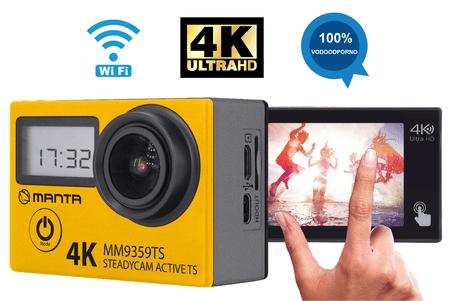 Manta MM9359TS športna kamera aktivna - Odprta embalaža