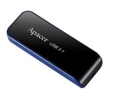 Apacer USB ključ AH356, 16 GB, USB 3.1, črn