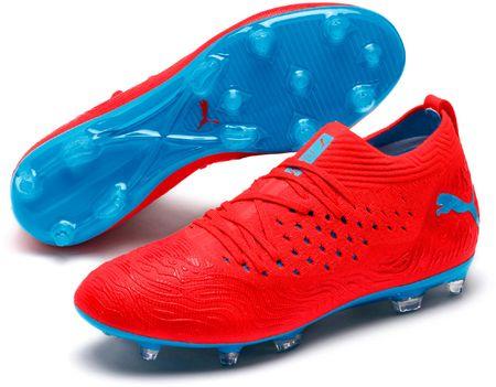 Puma moški nogometni čevlji Future 19.2 Netfit Fg/Ag, 42, rdeči