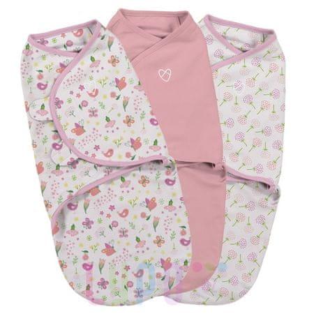 Summer Infant SwaddleMe pólya készlet 3db rózsaszín