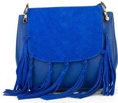 Giulia Monti modrá kabelka