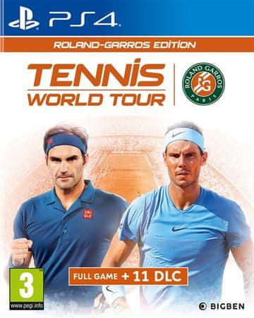 Big Ben Interactive igra Tennis World Tour - Roland Garros Edition (PS4)
