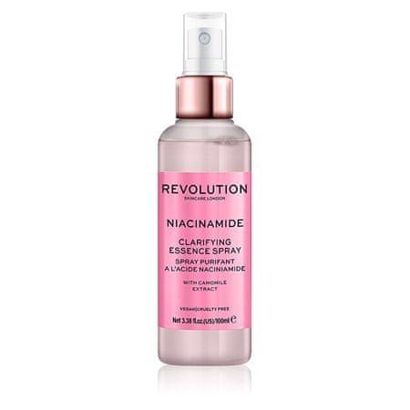 Makeup Revolution Čisticí pleťový sprej Skincare Niacinamide (Clarifying Essence Spray) 100 ml