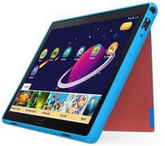 Lenovo TAB P10 - Kids Case - odolný kryt + fólie, modrý (ZG38C02616)