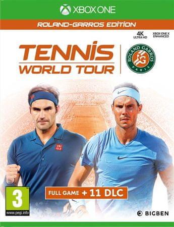 Big Ben Interactive igra Tennis World Tour - Roland Garros Edition (Xbox One)