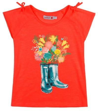 Boboli dievčenské tričko 98 oranžová