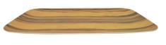 DUE ESSE Podnos Bamboo Nature 40,5 x 25,5 cm, tmavý