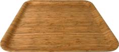 DUE ESSE Podnos Bamboo Nature 33 x 33 cm, světlý