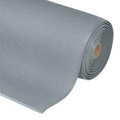 Šedá ESD protiskluzová rohož Cushion Stat - 91 cm a 0,94 cm