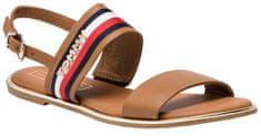 Tommy Hilfiger Dámske sandále Flat Sandal Corpo rate Ribbon FW0FW04049 -929