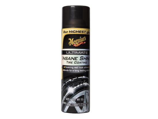 Meguiar's Ultimate Insane Shine Tire Coating - nejlesklejší přípravek na ochranu pneumatik v sortimentu , 425 g