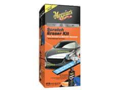 Meguiar's Quik Scratch Eraser Kit - sada pro lokální odstranění defektů laku