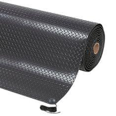 Černá ESD protiskluzová rohož Diamond Stat - 1,4 cm