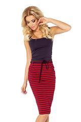 Numoco Dámská sukně 127-1 red-black