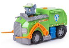 Cobi Pojazd z figurką Rocky & Track Psi Patrol 16601