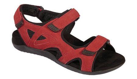 Scholl Zdravotní obuv dámská SPINNER červené (méret 39)