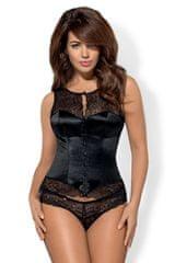 Obsessive Dámský korzet Miamor corset black