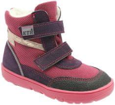 KTR dievčenské zimné topánky