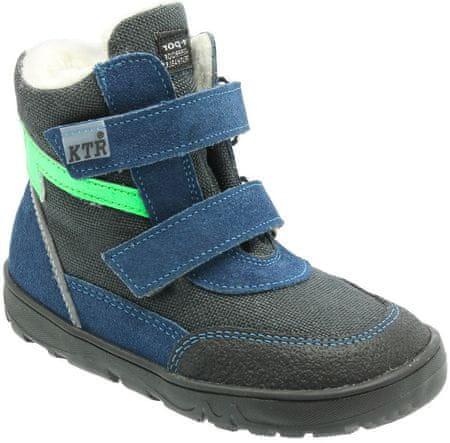 KTR chlapecké zimní boty 20 modrá