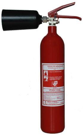 Hastex CO2 tűzoltó készülék (hó) 2kg - S 2 H