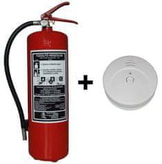 Hastex Készlet tűzoltó készülék P6Th + füst tűzjelző