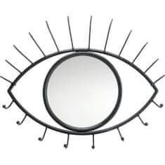 KARE Věšák na zeď se zrcadlem Eye