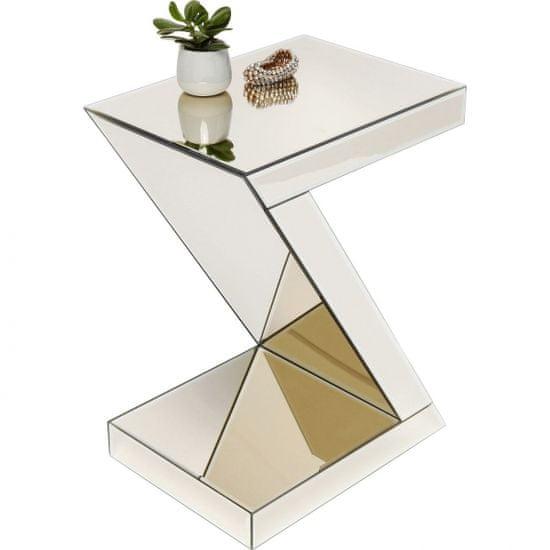 KARE Odkládací stolek Luxury Z Champagne