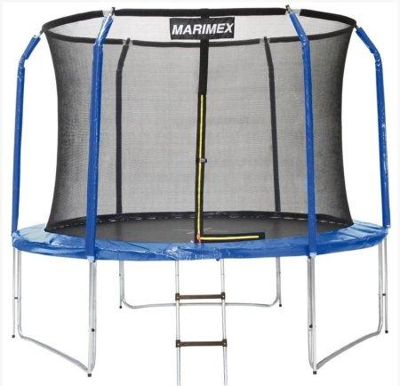 Marimex trampolin z zaščitno mrežo in lestvijo, 305 cm