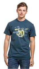 MEATFLY Męska koszulka Bend C- Dark Slate