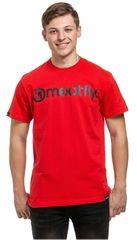 MEATFLY Koszulka męska Logo G- Red