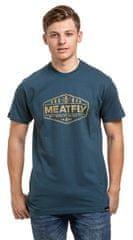 MEATFLY Męska koszulka Patrol D- Dark Slate