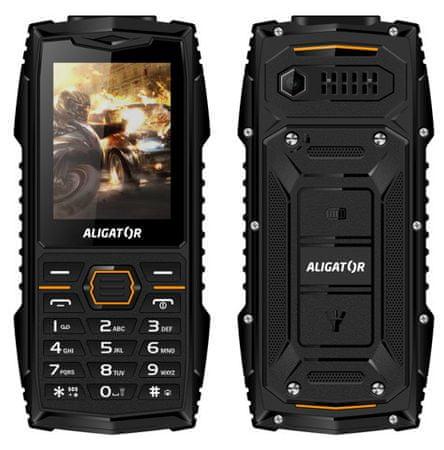 Aligator R15 eXtremo, černý