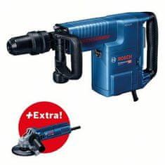 BOSCH Professional rušilno kladivo GSH 11 E + kotni brusilnik GWS 9-125 (0615990L21)