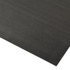 Černá antistatická rohož Rib 'n' Roll - 150 x 120 x 0,3 cm
