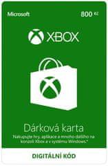 Microsoft Xbox - Dárková karta 800 Kč (K6W-01253) - elektronicky