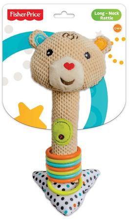 Fisher-Price Chrastítko s kroužky medvěd
