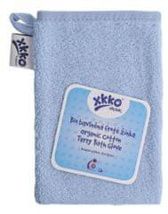 XKKO BIO bavlněná froté žínka Organic - Baby Blue
