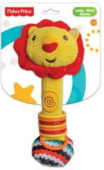 Fisher-Price Chrastítko s kroužky lev