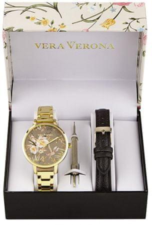 Vera Verona dámská dárková sada hodinek MWF16-075A