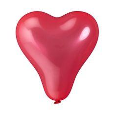 Butlers Balónky srdce set 10 ks - červená