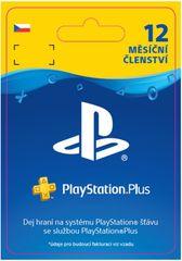 Sony PlayStation Plus 12měsíční členství (SCEE-XX-S0015598) - elektronicky