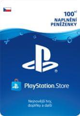 Sony PlayStation Store naplnění peněženky 100 Kč (SCEE-CZ-00010000) - elektronicky